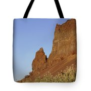 Basalt Cliffs Tote Bag