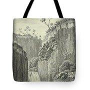 Basalt Rocks And The Cascade De Regla, Tote Bag