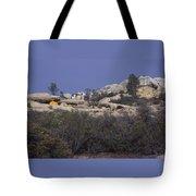 Base Camp - White Ledge Plateau - San Rafael Wilderness Tote Bag
