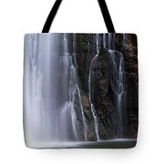 Base Of Porcupine Falls Tote Bag