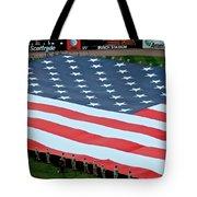baseball all-star game American flag Tote Bag