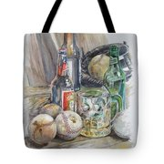 Baseball And Beer Tote Bag