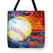 Baseball Art Version 6 Tote Bag