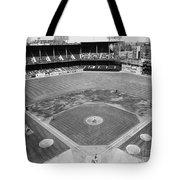 Baseball Game, C1953 Tote Bag
