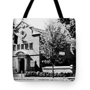 Baseball Hall Of Fame Tote Bag