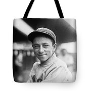 Baseball Mascot Eddie Bennett Tote Bag