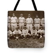 Baseball: Negro Leagues Tote Bag