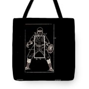 Baseball Pitcher's Practice Target Patent 1924 Tote Bag