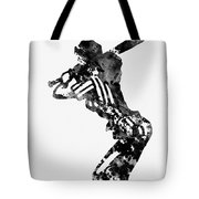 Baseball Player Tote Bag