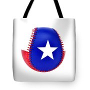 Baseball Star Tote Bag