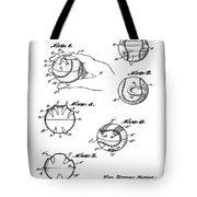 Baseball Training Device Patent 1961 Tote Bag