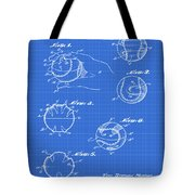 Baseball Training Device Patent 1961 Blueprint Tote Bag