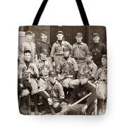 Baseball: West Point, 1896 Tote Bag
