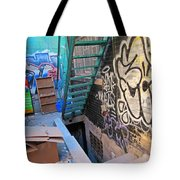 Basement Apartment In Graffiti Alley Tote Bag