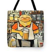Basement Brewer Tote Bag