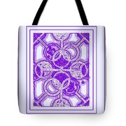 Bases Loaded In Purple Tote Bag