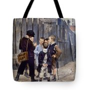 Bashkirtsev: Meeting, 1884 Tote Bag