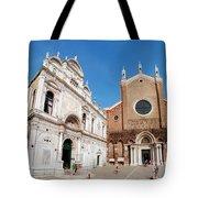 Basilica Dei Santo Giovanni E Paolo Tote Bag