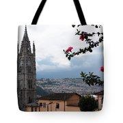 Basilica Del Voto Nacional Tote Bag