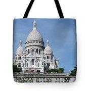 Basilica Du Sacre-coeur De Montmartre Tote Bag