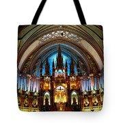 Notre - Dame Basilica - Montreal Tote Bag