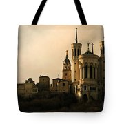 Basilica Of Our Lady Of Fourviere  Tote Bag