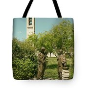 Basilica Of Our Lady Of San Juan Del Valle Tote Bag