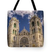 Basilica Of The Sacred Heart Newark New Jersey Tote Bag