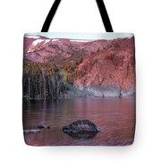 Basin Lake Sunrise 2 Tote Bag