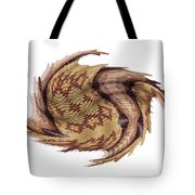 Basket Entering Black Hole Tote Bag