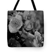 Basket Of Begonias Tote Bag
