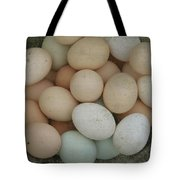 Basket Of Eggs  Tote Bag