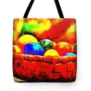 Basket Of Eggs - Pa Tote Bag
