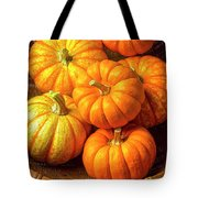 Basket Of Pumpkins Tote Bag