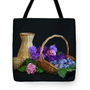 Basket With Astern Tote Bag