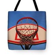 Basketball Hoop Tote Bag
