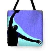 Basketball Poster Tote Bag