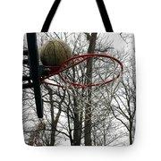 Basketball Practice Tote Bag