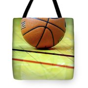 Basketball Reflections Tote Bag