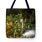 Basking By The Pond Tote Bag