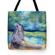 Basking In The Moonlight Tote Bag