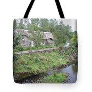 Baslow Cottages Tote Bag