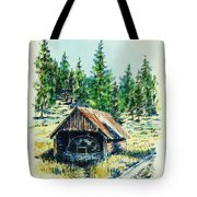 Basque Oven - Russell Valley Tote Bag