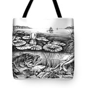 Bass And Crappie Tote Bag
