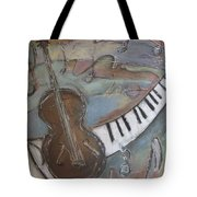 Bass And  Keys Tote Bag