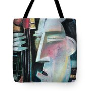 Bass Face Tote Bag