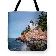 Bass Harbor Head Lighthouse Tote Bag