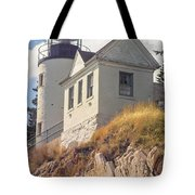 Bass Harbor Light Photo Tote Bag