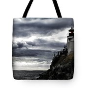 Bass Harbor Lighthouse In Acadia Np Tote Bag