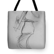 Bass Man Tote Bag